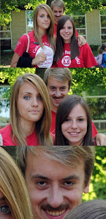 creepy rapist face photobomb