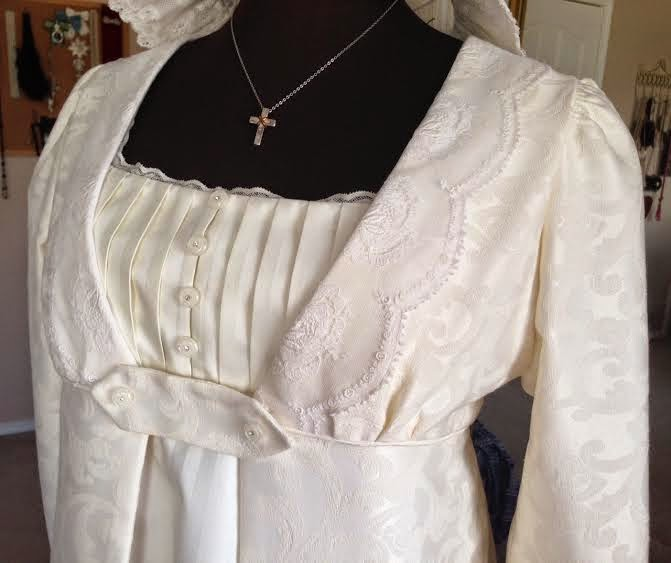 Beauty From Ashes: Elizabeth Bennet Wedding Dress: Complete