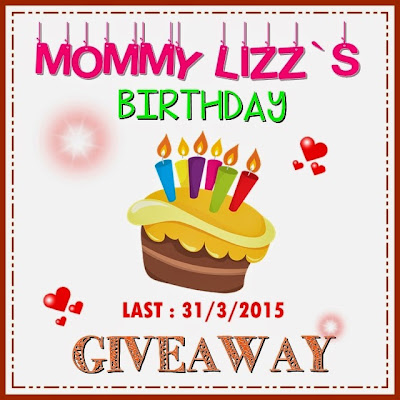 MOMMY LIZZ`S BIRTHDAY GIVEAWAY