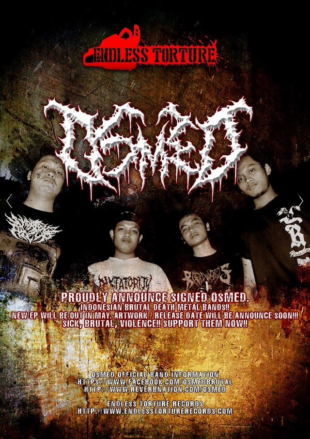 Jakarta Slamming Brutality OSMED Resmi Menjadi Roster baru ENDLESS TORTURE Records