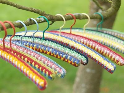 Las Teje Y Maneje Crochet Hangers