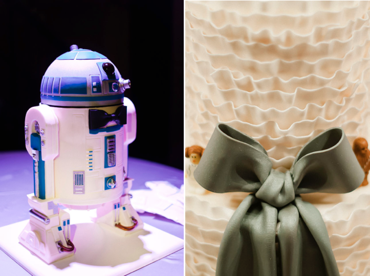 Romantic Dessert Table with Star Wars Details | Shauna Younge (pics: Melissa Oholendt) | Sweet Tooth