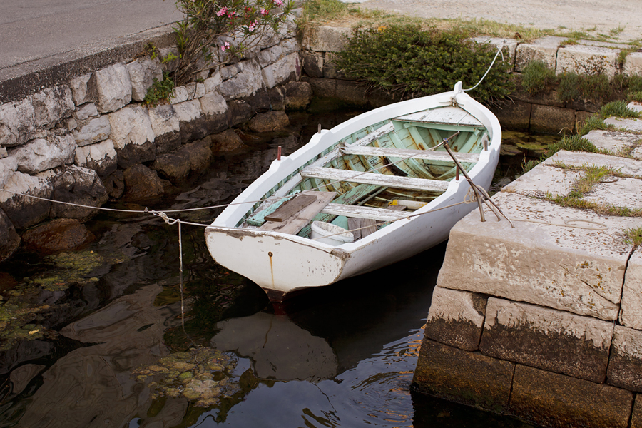 Kotor Bay, boat, sea, Montenegro