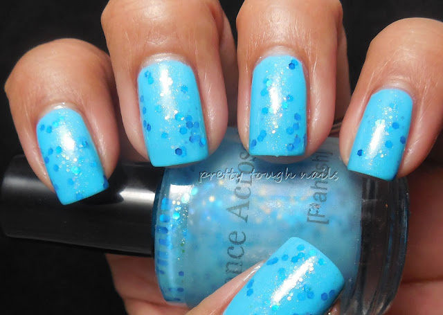 Pahlish Dance Across The Sea Over Wet n Wild Teal Slowly See