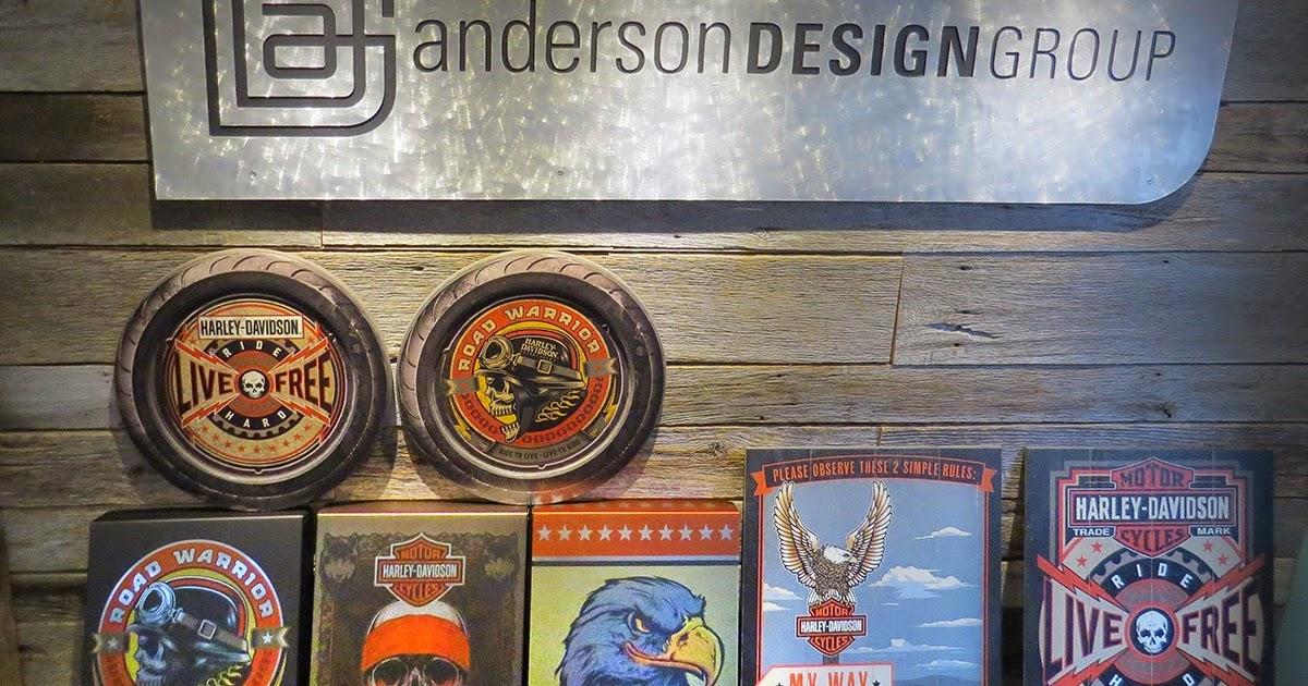 Anderson Design Group Blog Wall Decor For Harley Davidson