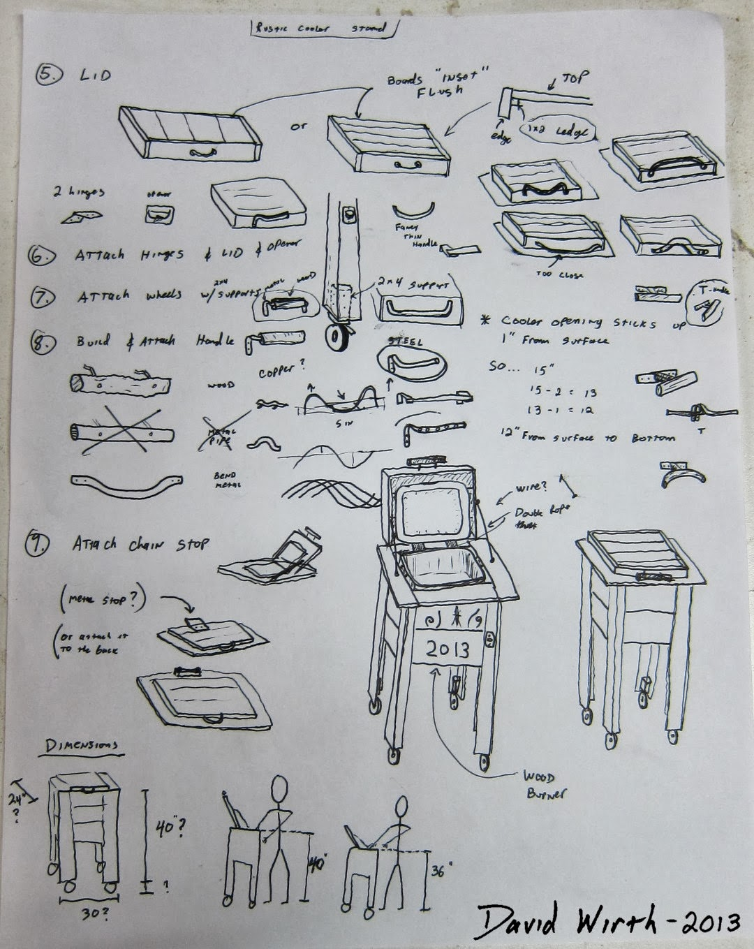 PDF DIY Wooden Ice Chest Holder Plans Download wooden shelves plans ...