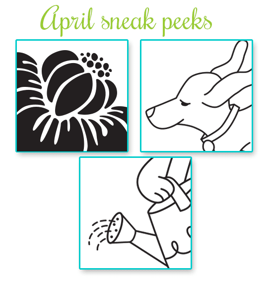 April Release Sneak Peeks | Newton's Nook Designs