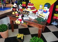 decoração festa temática mickey