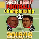 Sports Heads Football Championship 2015/2016 | Juegos15.com