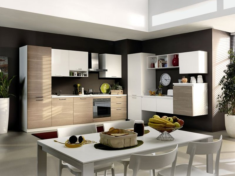 Scalia Forniture : Gli abbinamenti per le pareti della vostra cucina