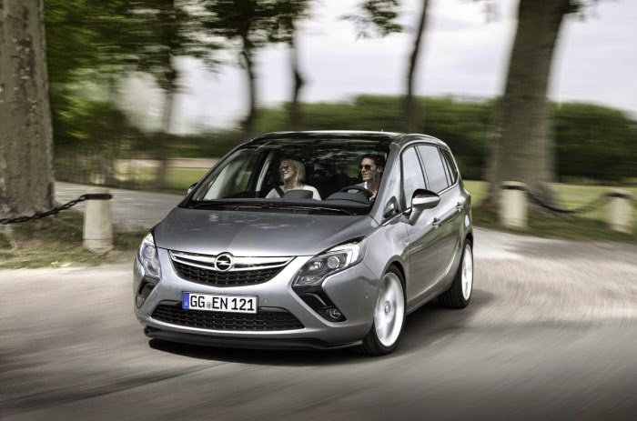 Opel announced the 2015 2016 Zafira Tourer 1.6 CDTI ecoFLEX