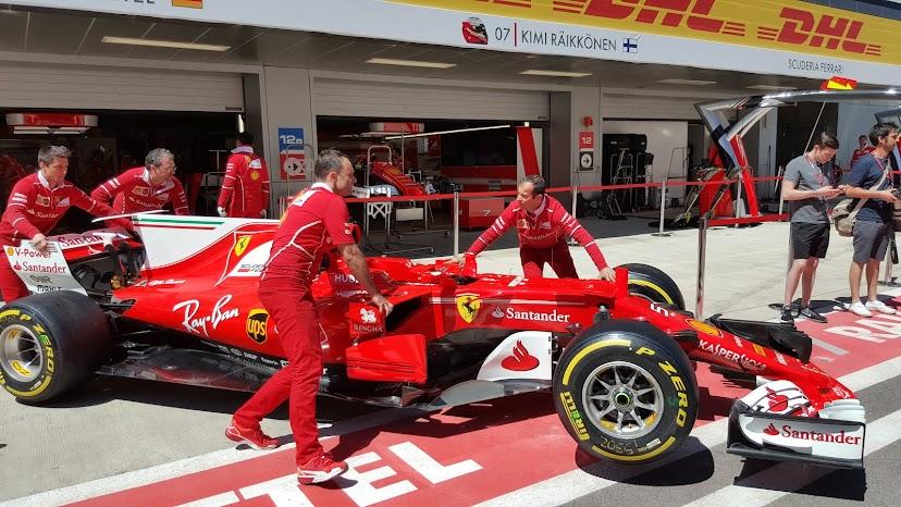 Kimi Räikkönen & Sebastian Vettel