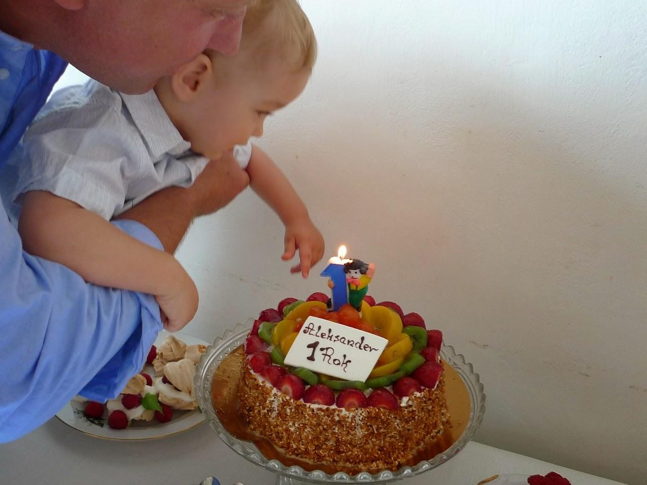 Mam już roczek!/I am one year old!