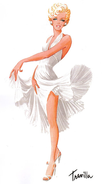 William Travilla dress for Marilyn Monroe film The Seven Year Itch