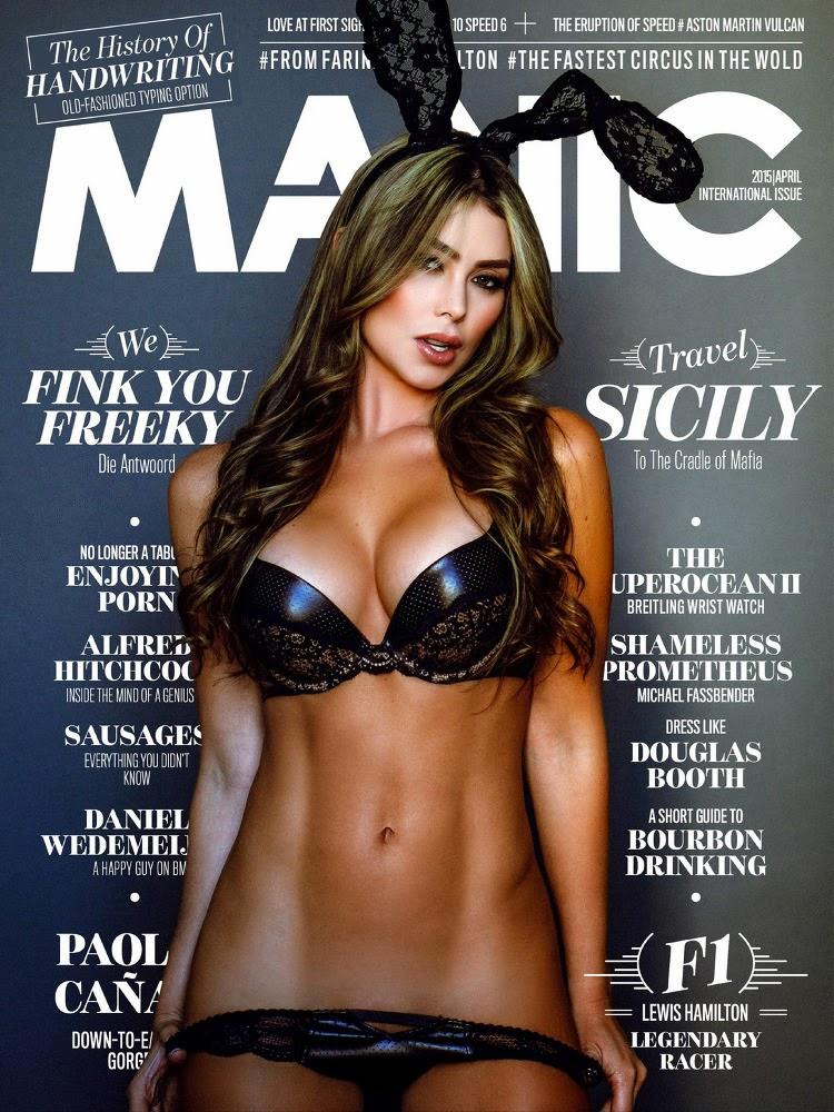 Paola Cañas - Manic Magazine, April 2015