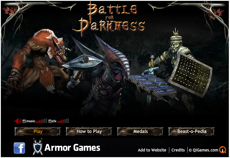 Armor Game : Battle for Darkness