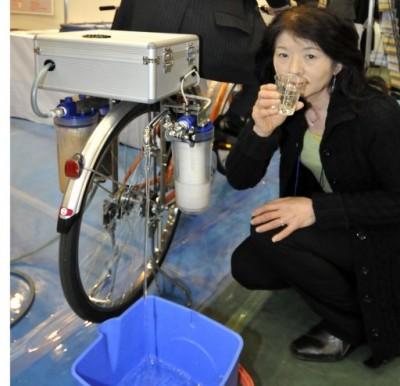 L 39 entit un v lo purificateur d 39 eau - Purificateur d eau portable ...
