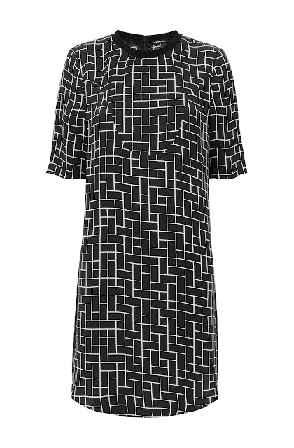 whistles print dress
