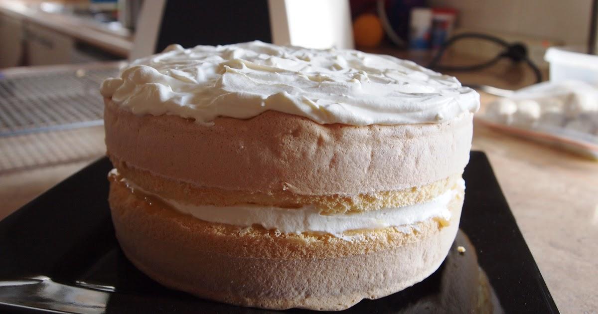 Can I Make Sponge Cake With Cornflour