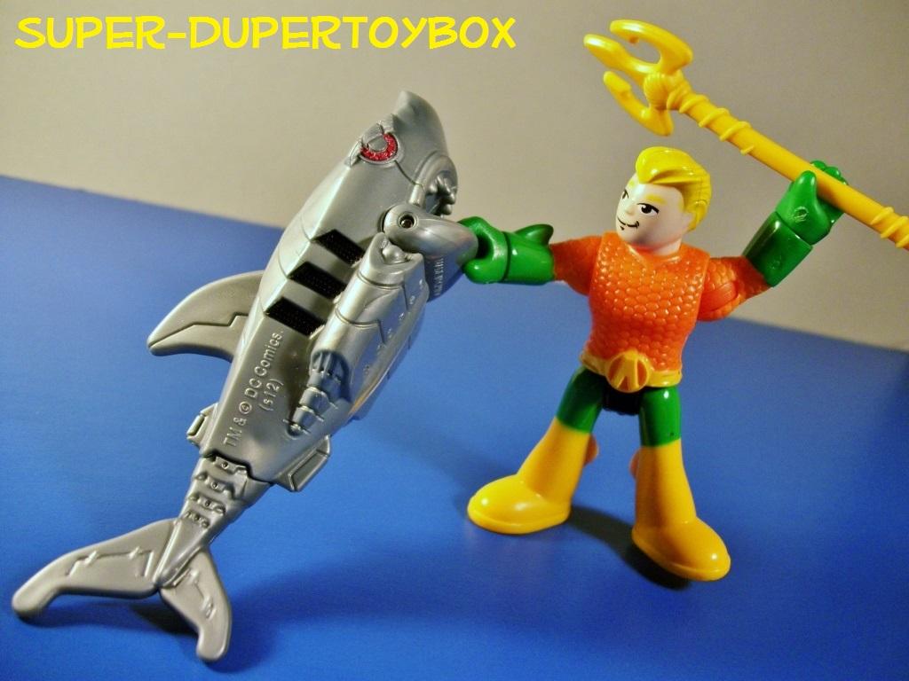 super dupertoybox imaginext justice league figures