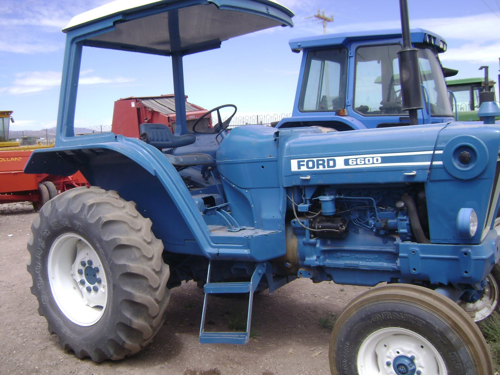 Ford 6600 Tractor : Maquinaria agricola industrial tractor ford pjcw