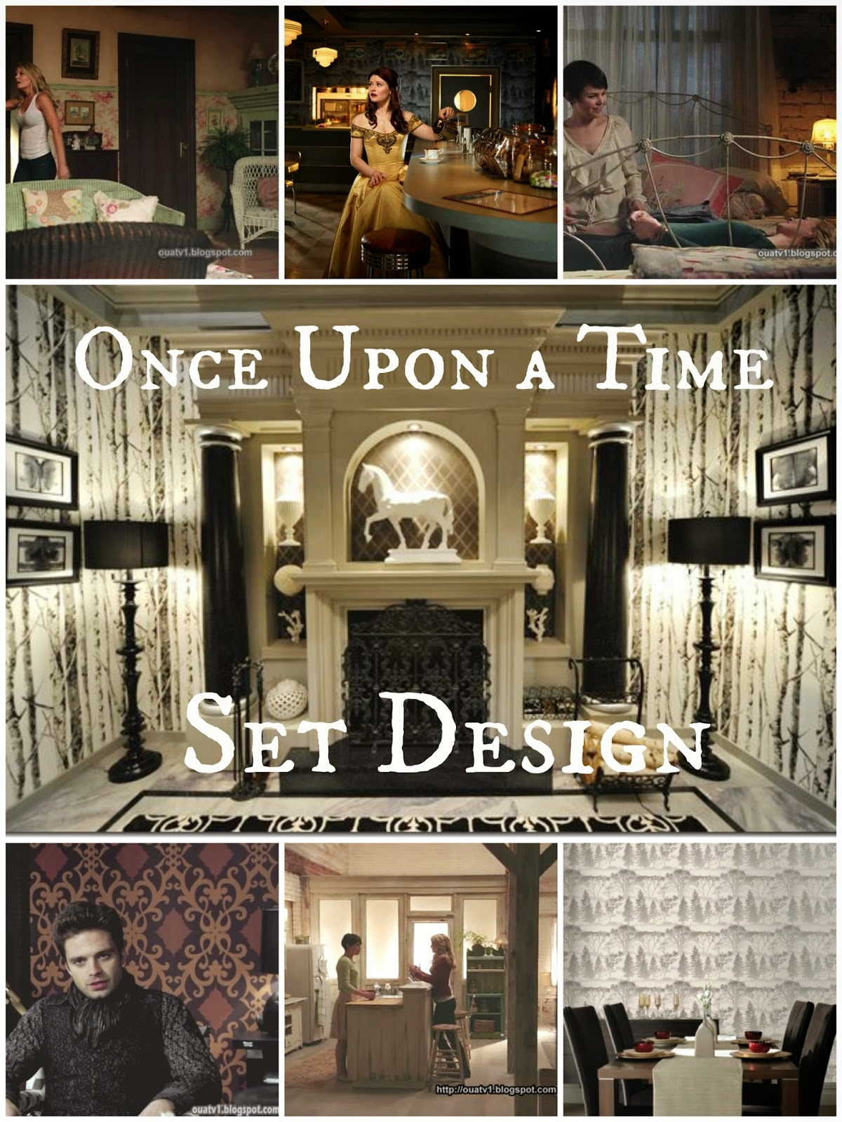 Superior Once Upon A Time Home Decor Part - 5: Once Upon A Time I Designed A Fairy Tale Bedroom.