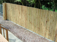 Bamboo Fence Rolls