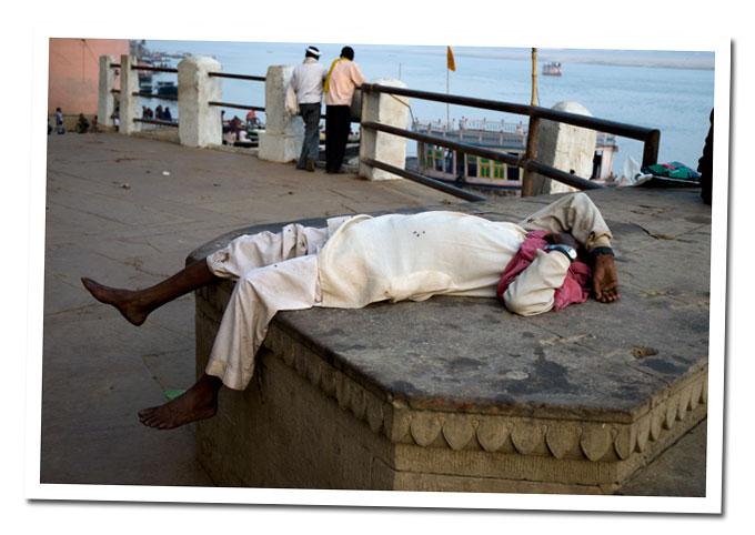 durmiendo en el ghta