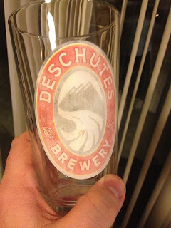 Faded Deschutes Brewery Glass