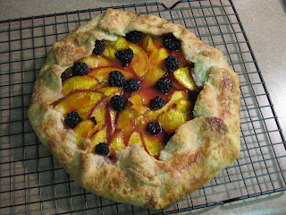 Recipe: Chez Panisse&#8217;s nectarine blackberry galette