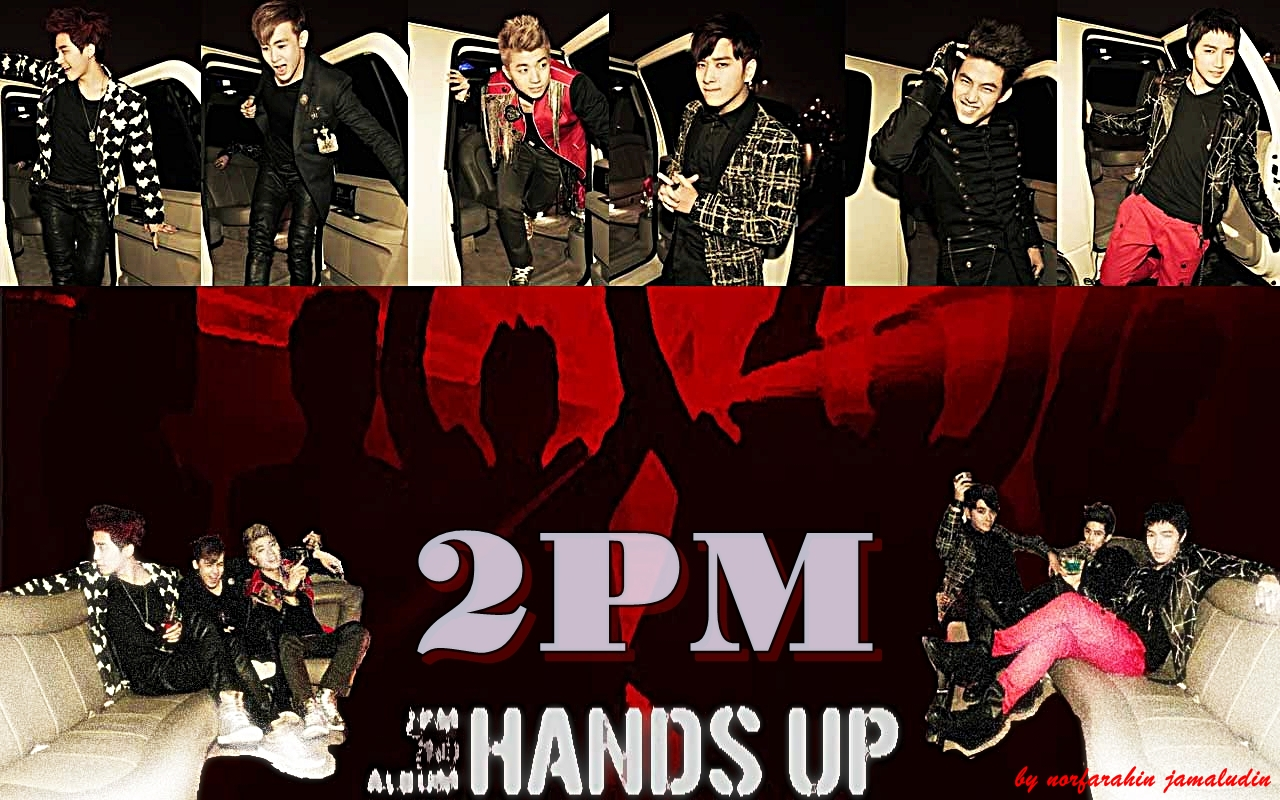 POP FEVER just for kpop fanz: 2PM HANDS UP WALLPAPER