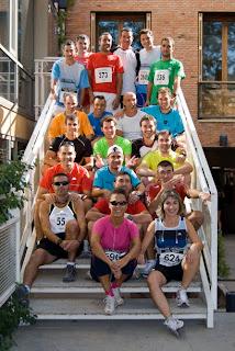 Participantes Rinconeros en la carrera