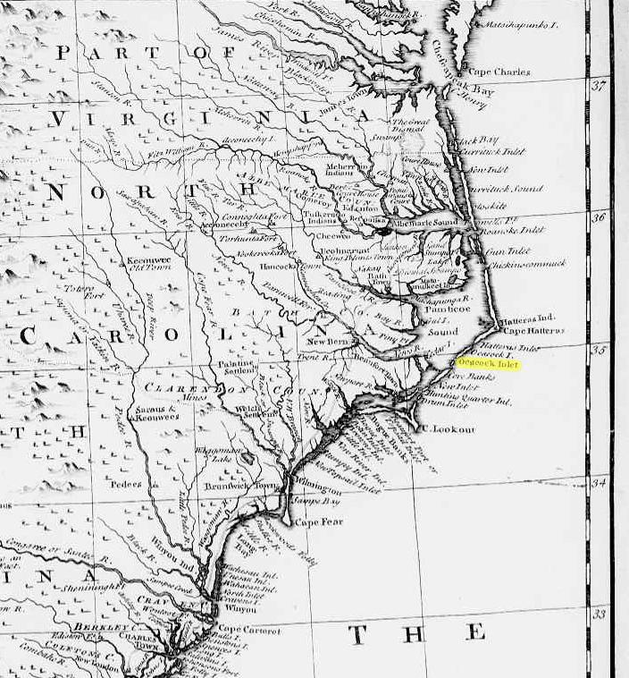 North Carolina Shipwrecks The Spanish Galleons  18