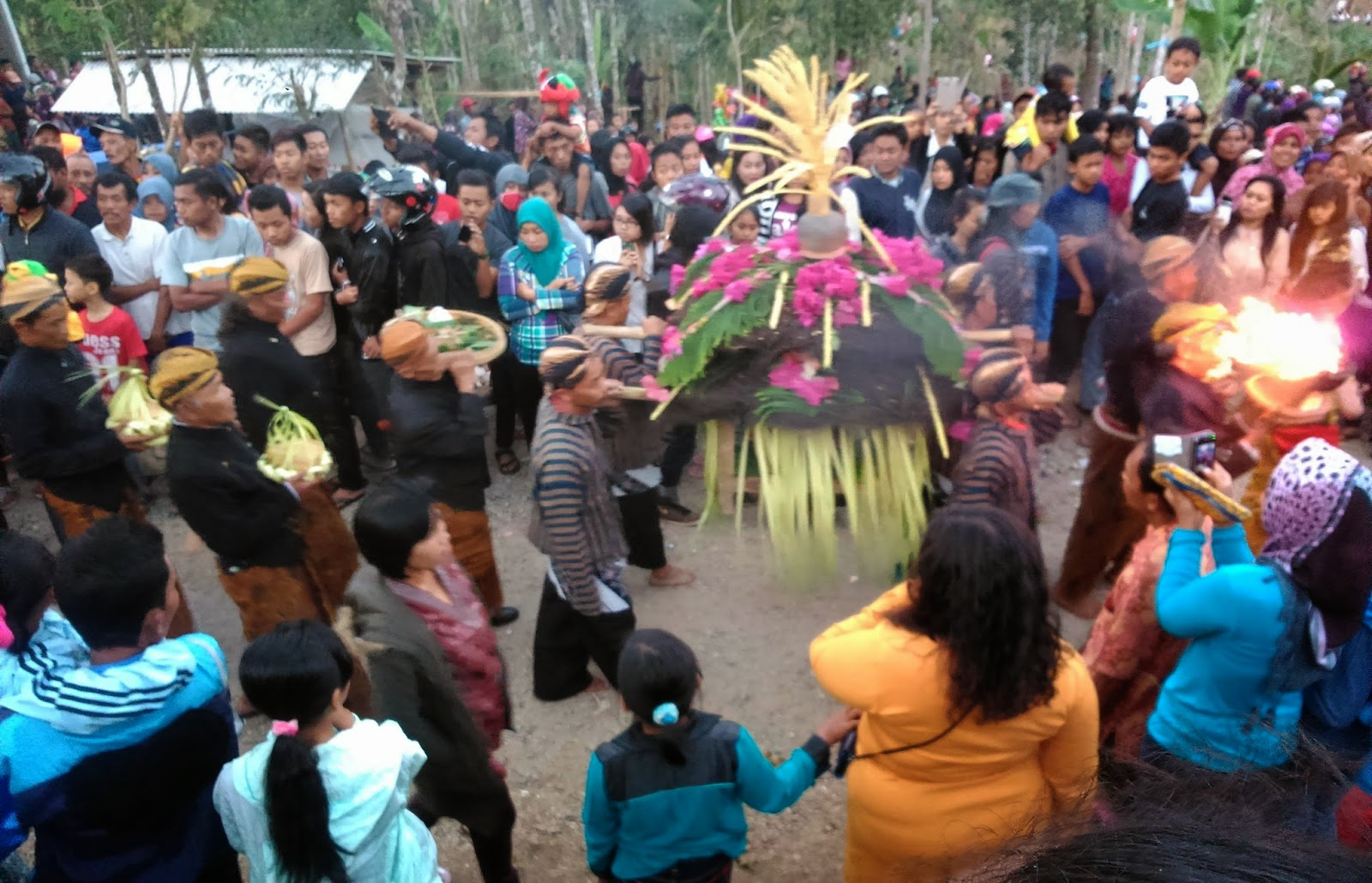 Upacara Tradisional Desa Sekar Kec.Donorojo
