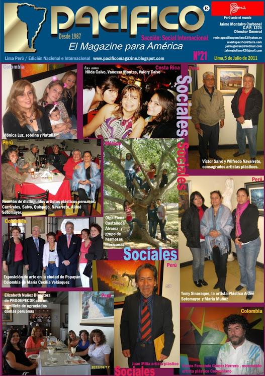 Revista Pacífico Nº 21 Social Internacional