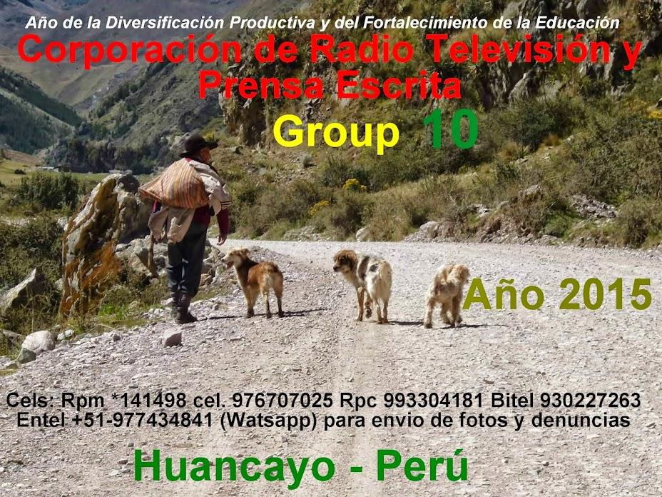 """""""Group 10 Noticías-Huancayo"""""""