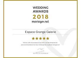 AWARDS 2018 - MARIAGE.NET