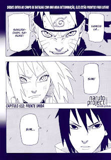 Naruto Manga - 632