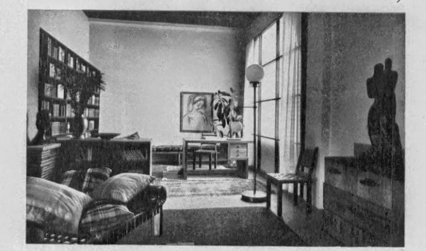 Interior deco of a 4 room simplified flat joy studio design gallery best design - Deco moderne flat ...