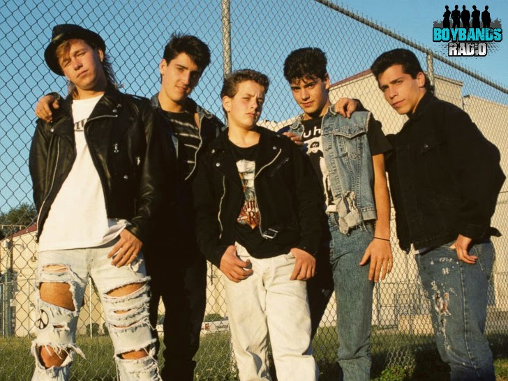Jonathan Knight, Jordan Knight, Joey McIntyre, Donnie Wahlberg & Danny Wood are New Kids On The Block, every day on Boybands Radio.
