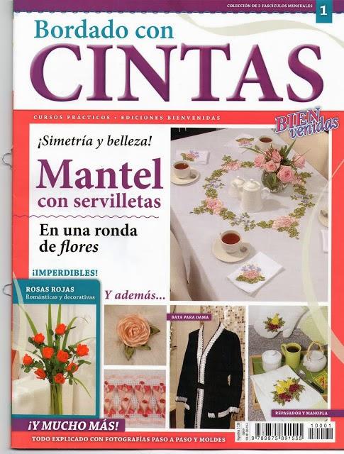Lenceria De Baño Con Cintas:Revista Bordado de Cintas – Revistas de manualidades Gratis