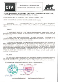 Solicitamos convocatorias de Asambleas informativas del Comité de Empresa
