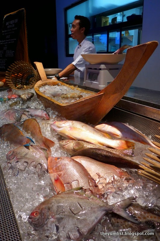 Jala Restaurant, seafood restaurant, The Andaman, Langkawi