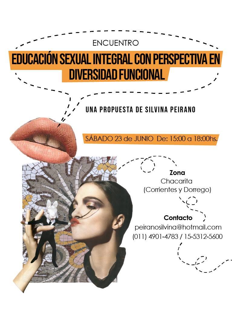 """ENCUENTRO  """"Educación Sexual Integral con Perspectiva en Diversidad Funcional"""""""