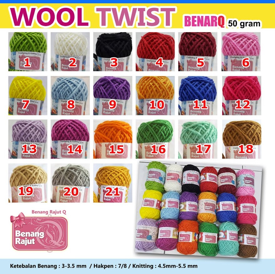 WOOL TWIST LOKAL