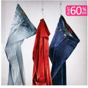 Fashionandyou : Red Tape Men's Clothing 60% off + 15% off on Rs. 2000, 20% off on Rs. 2500