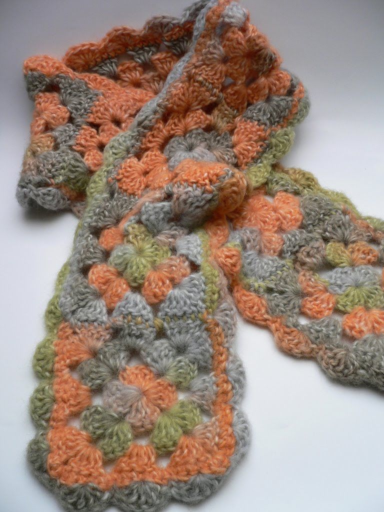 crochet scarf  crochet scarf pattern  crochet scarf patterns Crochet Scarf Instructions