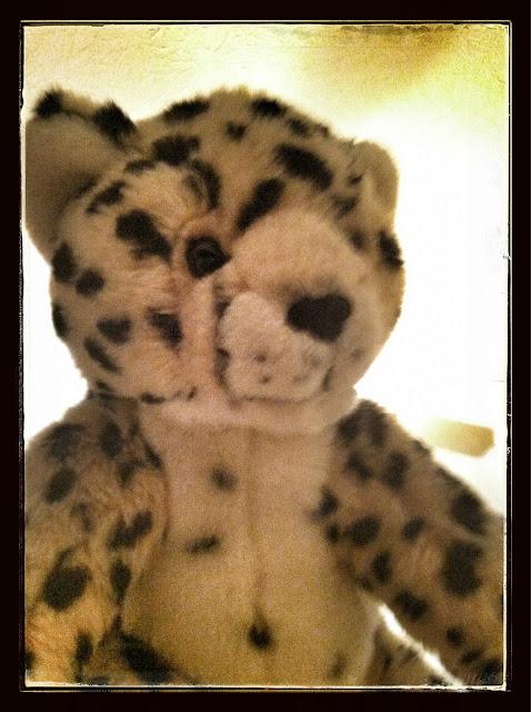 cheetah stuffed animal