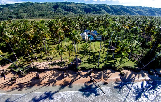 Beachfront home for sale in Las Terrenas, Samana, Dominican Republic