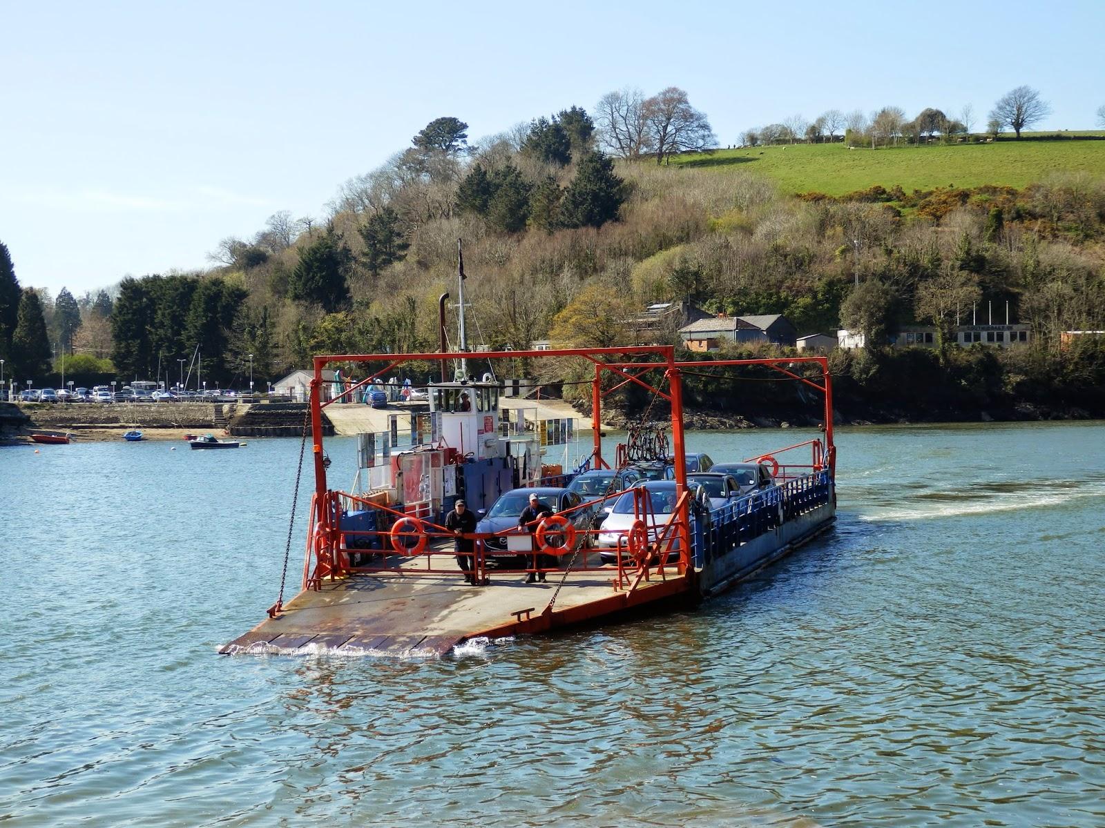 Boddinick Ferry Fowey Cornwall